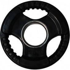 Диск обрезиненный, черный HANDLE D-51, 1,25 кг