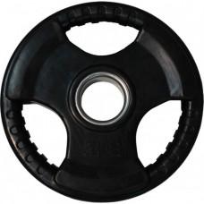 Диск обрезиненный, черный HANDLE D-51, 10 кг
