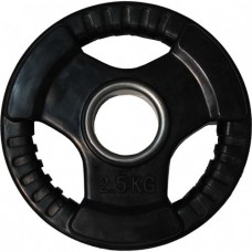 Диск обрезиненный, черный HANDLE D-51, 2,5 кг