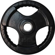 Диск обрезиненный черный HANDLE D-51, 15 кг