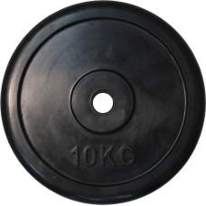 """Диск обрезиненный черный """"Classic"""" D-26, 10 кг"""