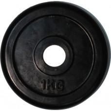 """Диск обрезиненный черный """"Classic"""" D-26, 1 кг"""