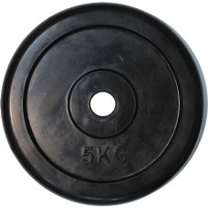 """Диск обрезиненный черный """"Classic"""" D-26, 5 кг"""