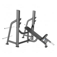 E-7042 Скамья-стойка для жима под углом вверх (Olympic Bench Incline)