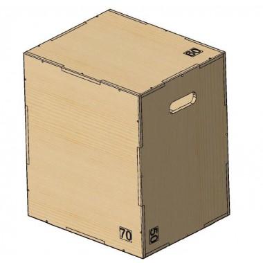 Универсальный PLYO BOX фанера, PROFI-FIT, 3 в 1, 50-60-75 см
