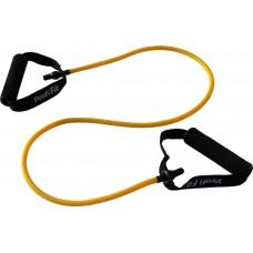 Эспандер трубчатый PROFI-FIT, желтый, сопротивление 3,5 кг