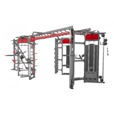 360H Станция DHZ для функциональных тренировок. 6800x3500x2560 мм