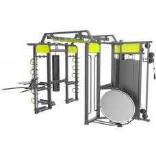 360XM Станция DHZ для функциональных тренировок, 520х350х256 см