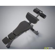 DHZ Style Pro E1037 Скамья для пресса, регулируемая