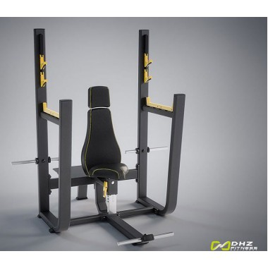 E-1051В Скамья для вертикального жима штанги (Olympic Seated Bench)