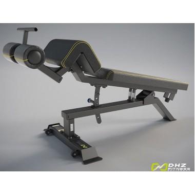 A-3037 Скамья для пресса регулируемая (Adjustable Decline Bench)