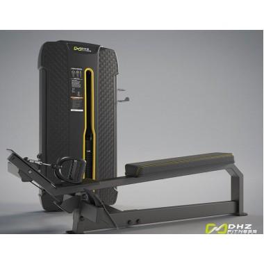E-4033A Гребная тяга. Горизонтальный блок (Long Pull). Стек 109 кг.