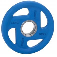 Диск обрезиненный PROFI-FIT цветной FASSION D-51, 2,5 кг