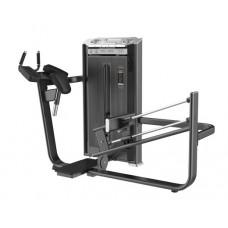 E-7024A Глют-машина. Ягодичные (Glute Isolator). Стек 110 кг.